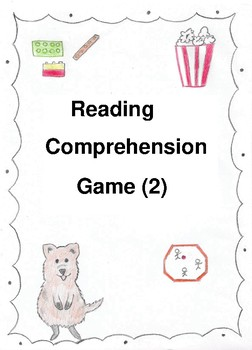 Reading Comprehension Game 2