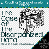 Reading Comprehension Games: Sequencing Story - Case of the Disorganized Data