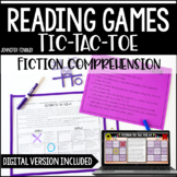 Reading Comprehension Games | Fiction Tic-Tac-Toe *with Digital Reading Games