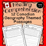 Reading Comprehension and Questions Geography of Canada Grade 2 / 3