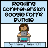 All Year Reading Comprehension Google Forms- Growing Bundle