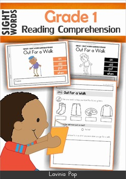 Reading Comprehension (Grade 1 Sight Words)