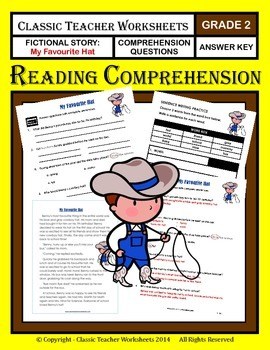 Reading Comprehension - Grade 2 (2nd Grade) - Fictional Story: Favourite Hat
