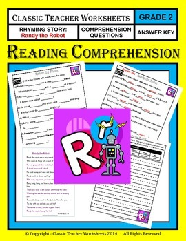Reading Comprehension - Grade 2 (2nd Grade) - Rhyming Stor