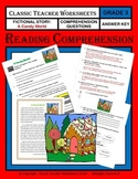 Reading Comprehension - Grade 3 (3rd Grade) - Fictional Story: A Candy World
