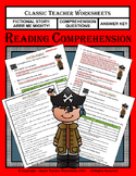 Reading Comprehension - Grade 3 (3rd Grade) - Fictional Story: Arrr Me Mighty