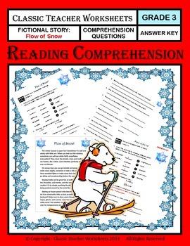 Reading Comprehension - Grade 3 (3rd Grade) - Fictional Story: Flow of Snow