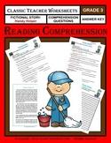 Reading Comprehension - Grade 3 (3rd Grade) - Fictional Story: Handy Helper