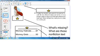 Reading Comprehension Grade 3 review, Nonfiction,Conclusions, 3.4 Smart board