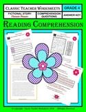 Reading Comprehension - Grade 4 (4th Grade) - Fictional Story: Flower Power