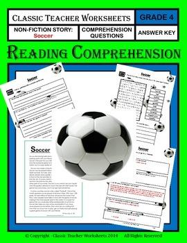Reading Comprehension - Grade 4 (4th Grade) - Non-fiction