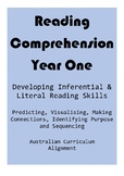 Reading Comprehension - Grade One
