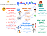 Reading Comprehension Graphic Organizer-Break It Down