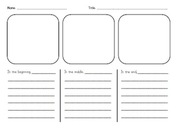 Reading Comprehension Graphic Organizer Pack
