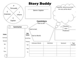 Reading Comprehension Graphic Organizer- The Story Buddy S