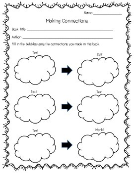Reading Comprehension Graphic Organizers - 20 Pack