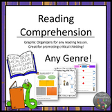 Reading Comprehension Graphic Organizers-Detective Themed