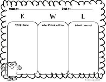 Reading Comprehension Graphic Organizers - Book Buddies Edition