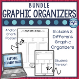 Reading Comprehension Graphic Organizers Bundle - Includes