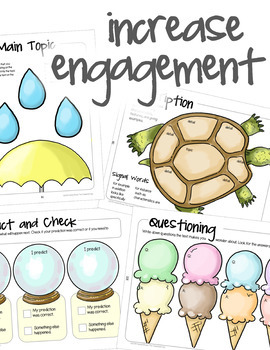 Reading Comprehension Graphic Organizers and Activities