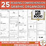Reading Comprehension Graphic Organizers Distance Learning