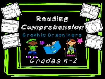 Reading Comprehension Graphic Organizers for Grades K-3 Co