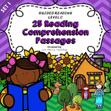 Reading Comprehension: Kindergarten and 1st Grade Reading Comprehension Passages