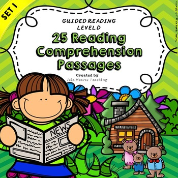 Kindergarten and First Grade Reading Comprehension Passages