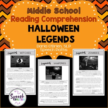 Reading Comprehension: Halloween Legends