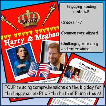 Reading Comprehensions - The Royal Wedding 2018: Prince Harry & Meghan Markle