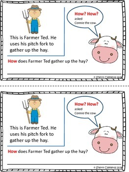 Reading Comprehension: How? How? asked Connie the Cow