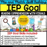 Reading Comprehension IEP Goal Skill Builder Non-Fiction S