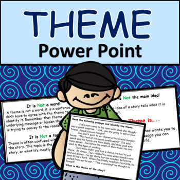 Reading Comprehension: Identifying Theme Power Point