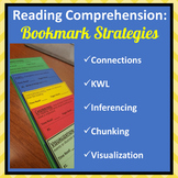 Reading Comprehension: Independent Reading Bookmarks