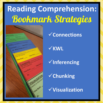 Reading Comprehension: Independent Reading Bookmarks