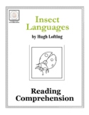 Reading Comprehension: Insect Languages with Doctor Dolittle