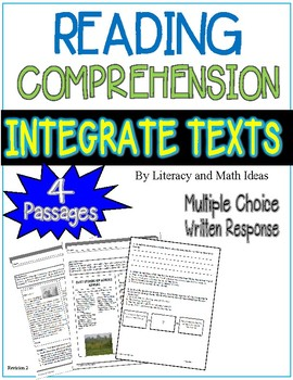 Reading Comprehension:  Integrate Texts