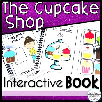 Reading Comprehension Interactive Book- The Cupcake Shop