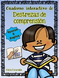 Reading Comprehension Interactive Notebook in Spanish & English