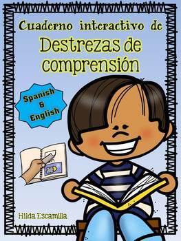Reading Comp Interactive Notebook - Cuaderno interactivo de lectura - Span & Eng