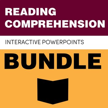 Reading Comprehension Interactive PowerPoint Bundle