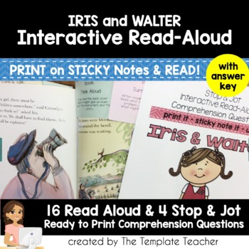 Reading Comprehension & Interactive Read Aloud with Iris and Walter
