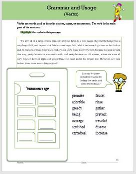 Reading Comprehension ~ Interactive Worksheets and Activities