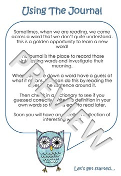 Reading Comprehension: Interesting Words