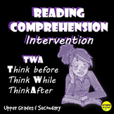 Reading Comprehension Intervention