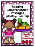 Reading Comprehension January - No Prep