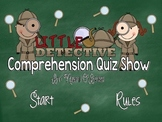 Reading Comprehension Jeopardy-Style Game Show for 2nd Grade