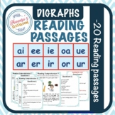 Reading Comprehension-Jolly Phonics diagraphs printable wo