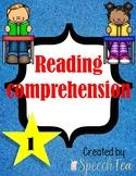 Reading Comprehension Level 1