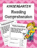 Kindergarten Reading Comprehension {Fiction}
